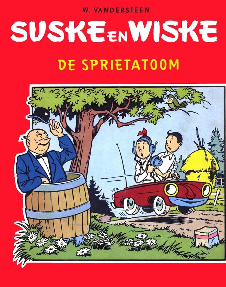 Suske en Wiske - De Sprietatoom (Willy Vandersteen) #belgium