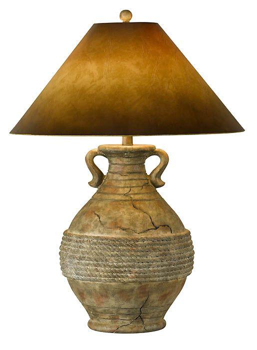 southwest floor lamps | Southwest Lamps, CAL-BO-305 Southwestern Style Table Lamp
