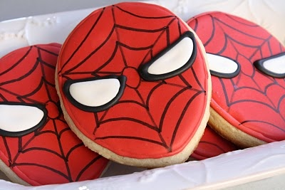 The only thing that could make this cooler is if he had little Deadpool cookies around to annoy and hit on him. And also be bffs with. #I'mstartingtothinkthisisbecomingaproblem #shippingcookiesohgodwhatswrongwithme #buttheseareseriouslycute #andhashtagsareseriouslyannoyingKids Parties, Spiders Man Cookies, Spiderman Parties, Spiderman Cookies, Birthday Parties, Simply Birthday, Parties Ideas, Cute Cookies, Birthday Ideas
