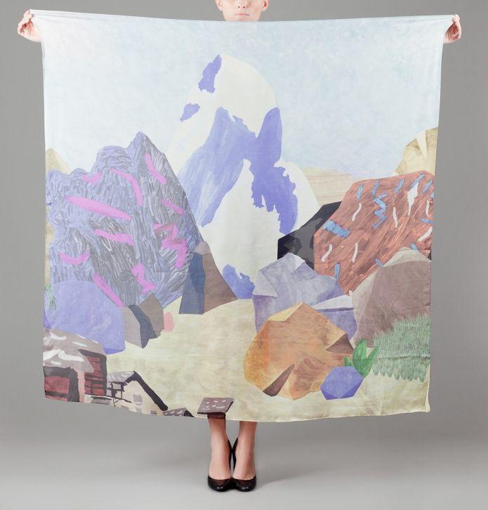 Beautiful scarf by milleneufcentquatrevingtquare at l'exception.
