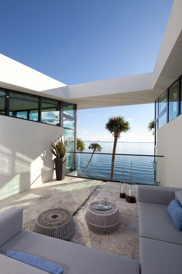 28 Patio Ideen – stilvolle Loungemöbel im Freien und ein ...