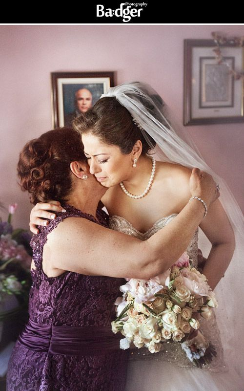 This emotional portrait of the bride is a timeless and powerful photo - Lebanese-Egyptian wedding in Montreal - Photography by Badger Photography