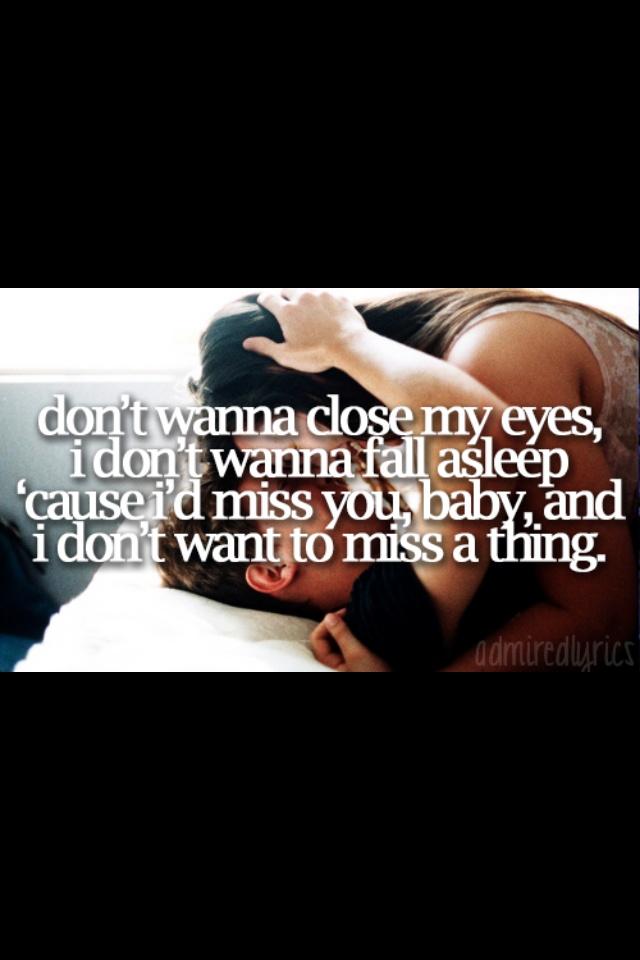 When i miss you i close my eyes lyrics