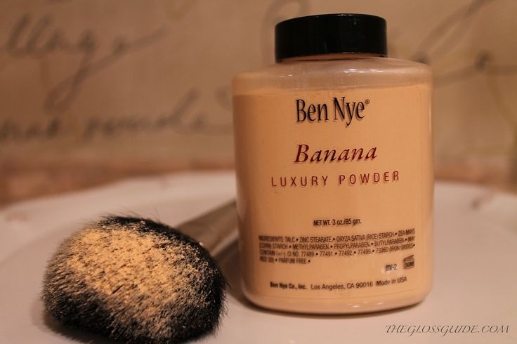 Ben Nye Banana Powder...a must have! This is a makeup staple ladies...order it and fall in love!
