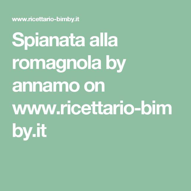 Spianata alla romagnola by annamo  on www.ricettario-bimby.it