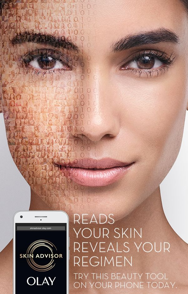 The latest beauty breakthrough is not behind the counter—it's in your hand. Snap a photo, answer some skincare questions, view your beauty analysis. It's your own personal skincare advisor. Go to SkinAdvisor.Olay.com to get your analysis right now!