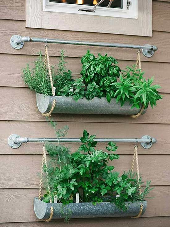 Beautiful In case you're working with a small yard or patio, use a vertical backyard to g...