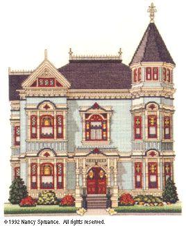 Simpson-Vance House  designed by Nancy Spruance