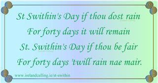 Genealogical Gems: On This Day: St Swithin's Day