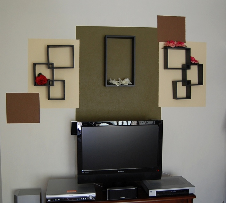 This is an original TV wall decoration. Use it to cover any empty wall space to add color and personality to a room