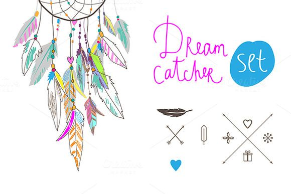 Dream Catcher set | Creative, Search and Design