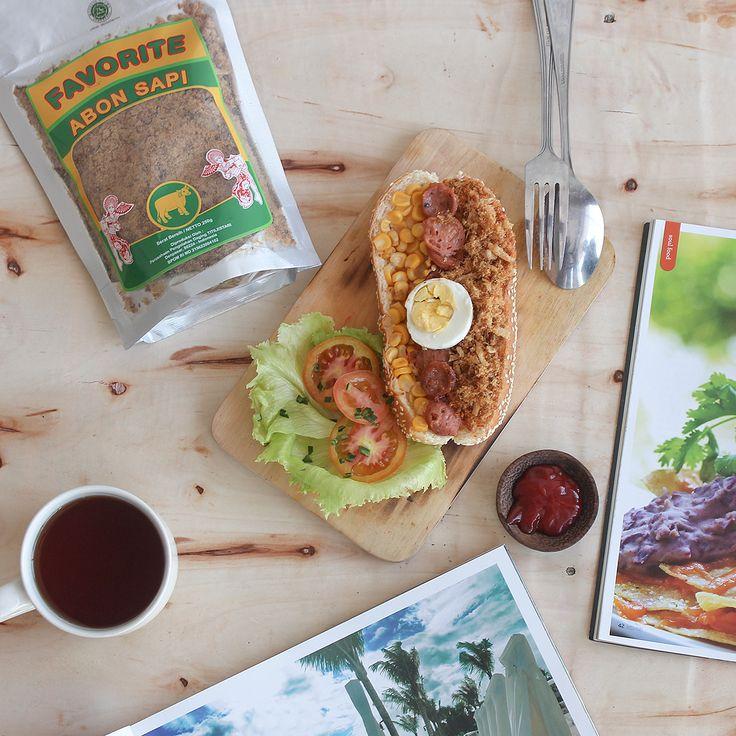 It's Breakfast. #bread #food #breakfast  https://www.instagram.com/favorite.meat.processing/  Photo by Rio Dwisandy Studio