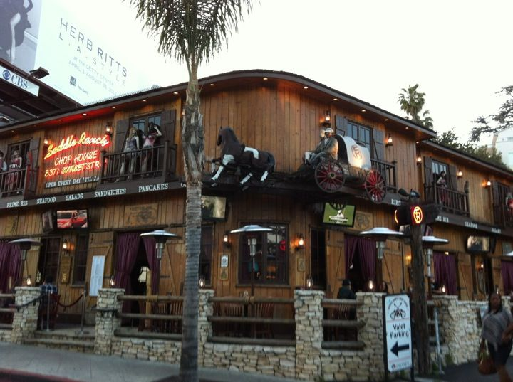 Saddle Ranch Chop House in West Hollywood, CA