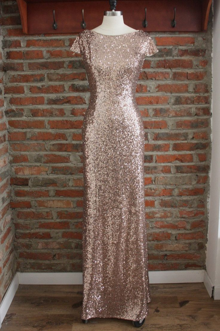 Shop Gold Sparkly Bridesmaid Dresses Long Metallic Formal Dress With Drape Down Under $100 online. Made with heart by GemGrace. Pro since 2009.