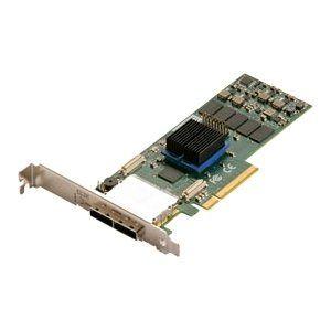 ATTO Technology ESAS-R680-000 ExpressSaS R680 - Serial ATA/600, 6Gb/s SAS - PCI Express 2.0 x8 - Plug-in Card - RAID Supported - 0, 1, 4, 5, 6, 10, 50, JBOD, 60, 40, DVRAID RAID Level - 8 Total SAS Port(s) - 8 SAS Port(s) External