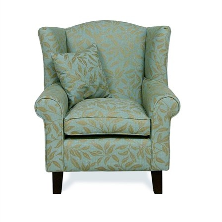 Wing Back Armchairs exclusive to Home Life. These beautiful armchairs are perfect for cosying up next to the fire to watch TV or read a good book. The free scatter cushion adds additional support to you while you site and relax. £250.00