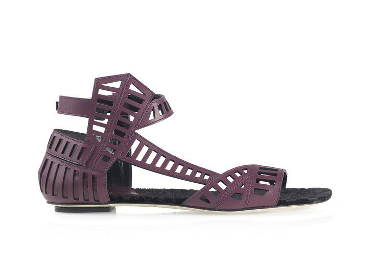 Sui #artisanalmodern #FW14 #sandal #lasercut