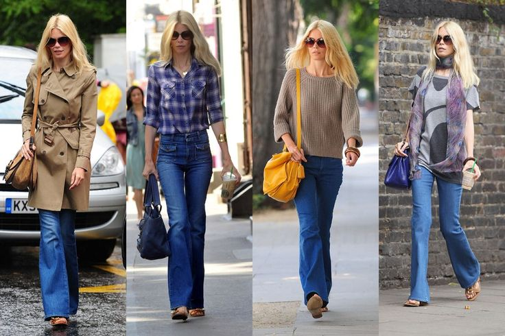 Who Looks Best in Flare Jeans: Karlie Kloss, Olivia Palermo ...