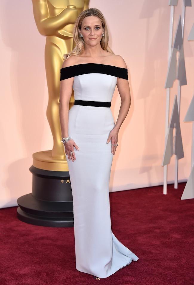 Reese Whiterspoon de Tom Ford en los  Oscar 2015