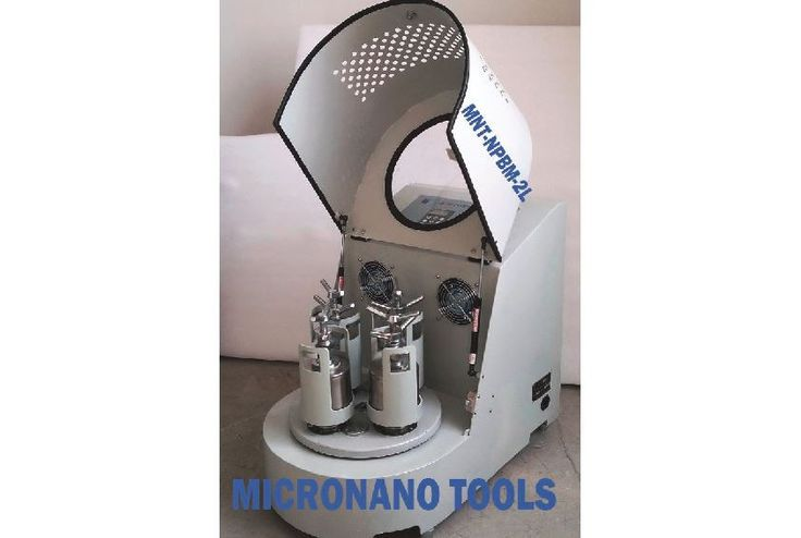 Planetary Ball Mill 4X 500ML - Two-year Warranty, Vacuum and Inert Gas Grinding Compatible