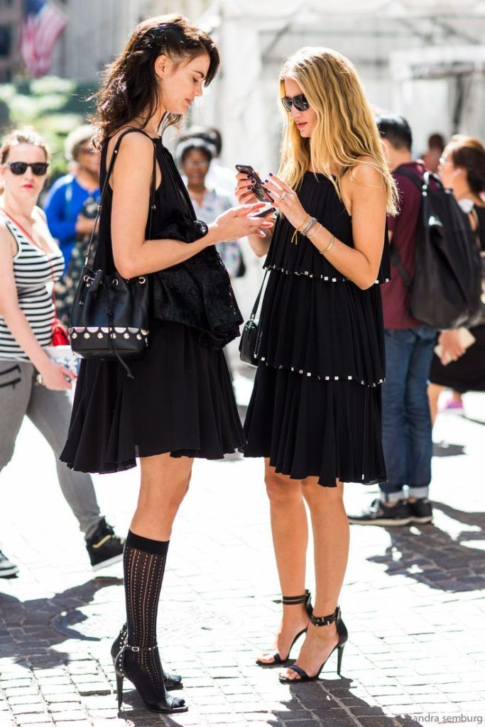 Current Style Trends Black Mini Skirt