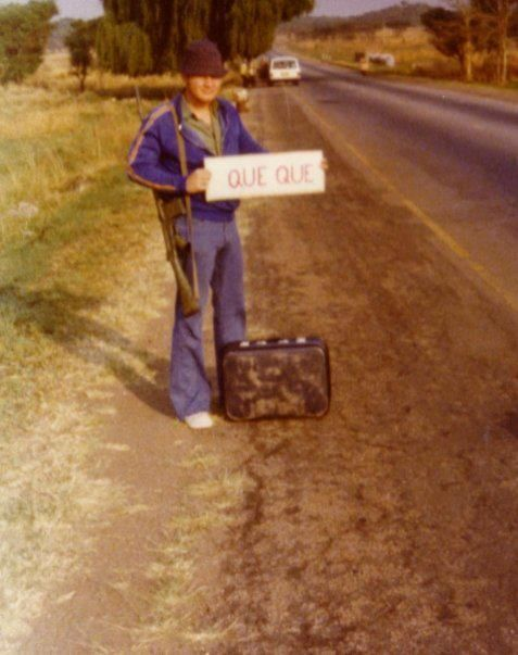 Hitch-hiking Rhodesian style!
