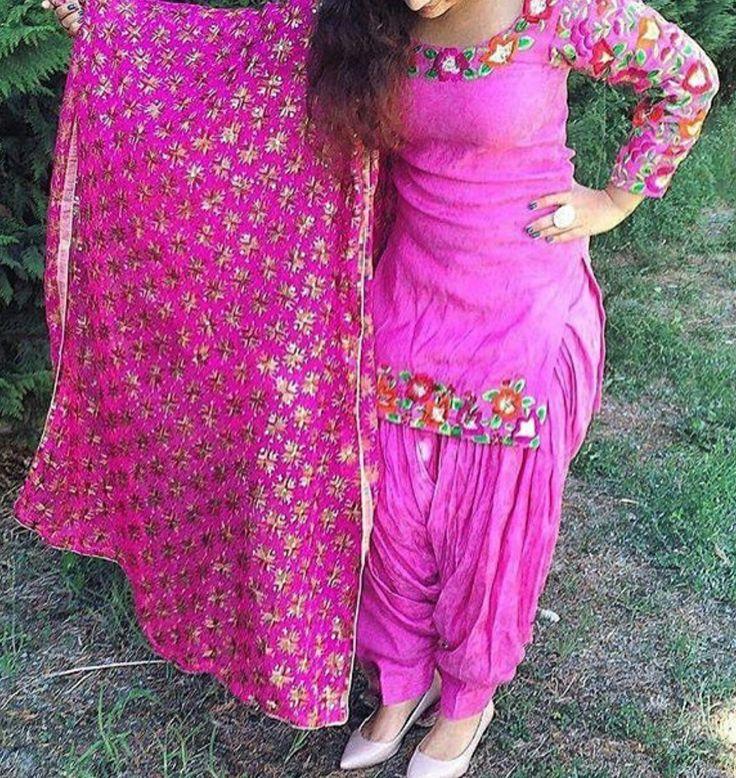 519 best Punjabi boutique suit images on Pinterest ...