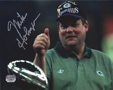 PACKERS Mike Holmgren signed 8x10 SB31 photo AUTO COA HOLO Autographed Green Bay