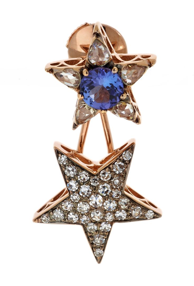 Earring - Stars of Istanbul: A unique jewelry collection designed by Selim Mouzannar.