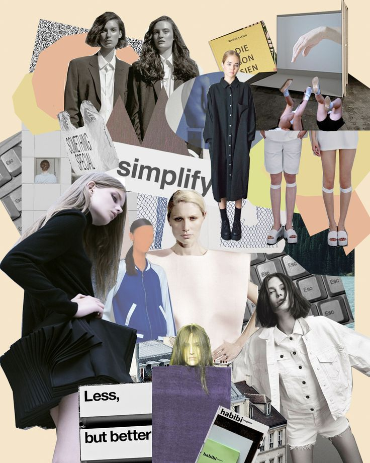 78 Images About Fashion Moodboards On Pinterest Fashion Design Portfolios Creative And