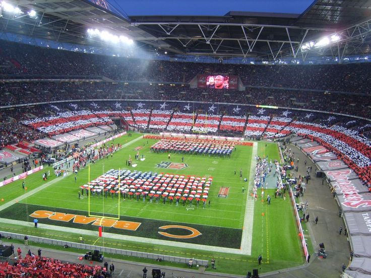 NFL London 2012 at Wembley Stadium.