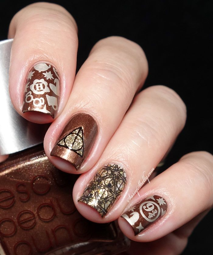 Harry Potter Fandom Nail Art  |  Sassy  Shelly