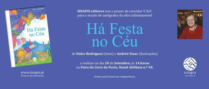 Feira do Livro do Porto - convite