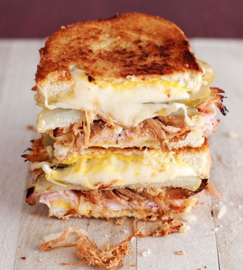 Cuban grilled cheese