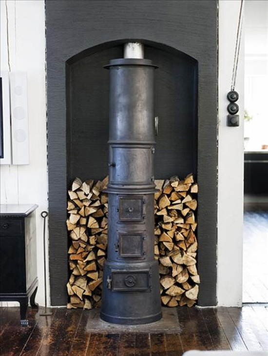 Fireplace...Mmmmm not seen anything quite like this before!