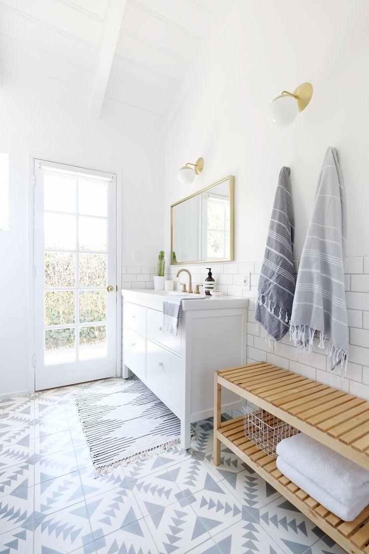 25 Best White Tile Floors Ideas On Pinterest Grey Bathrooms Inspiration Neutral Small