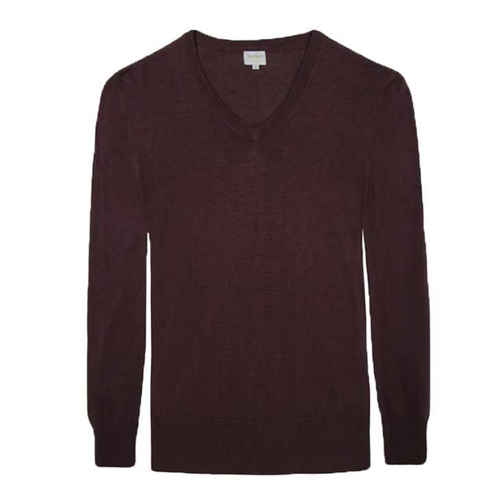 Bamboo Body Men's V Neck Bamboo Cashmere Wool Knit - $119.95 #travelclothes #mensclothes #bambooclothes