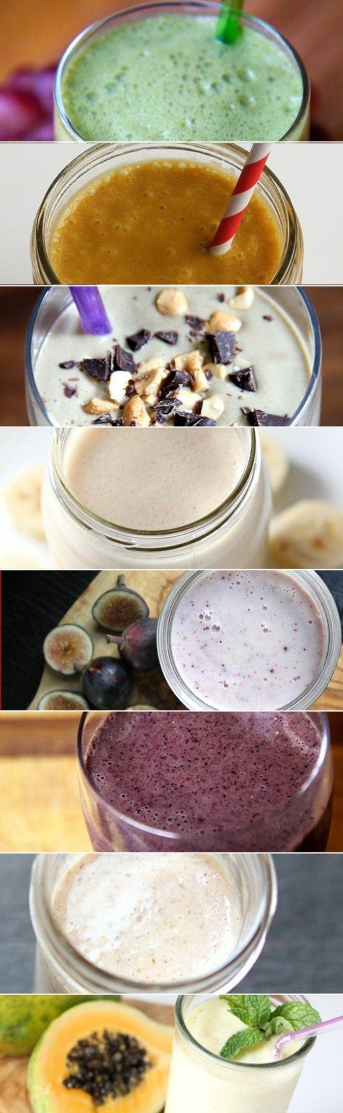des recettes de smoothies pour bien commencer la journée avec un petit déjeuner équilibré