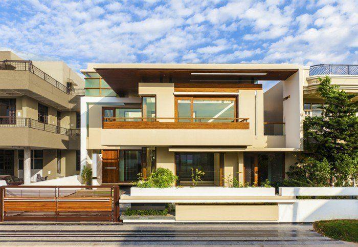 plan de maison contemporaine - étanchéité toit plat