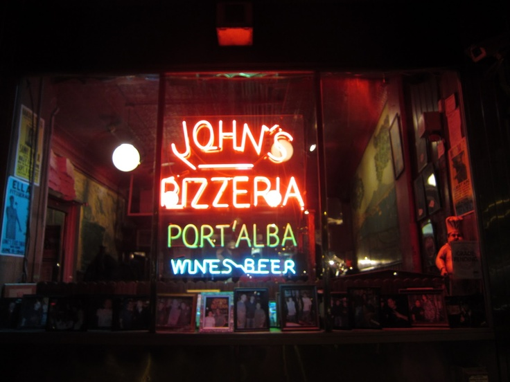 John's Pizzeria, Bleecker Street, New York City