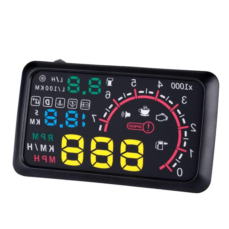 "5.5"" Car HUD System - OBD II Universal - Pick Pay Post"