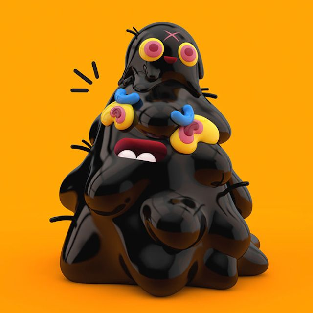Playful 3D Characters - El grand Chamaco