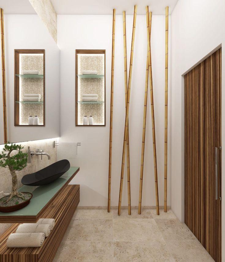 Natur- badezimmer fuji: badezimmer von perfecto design