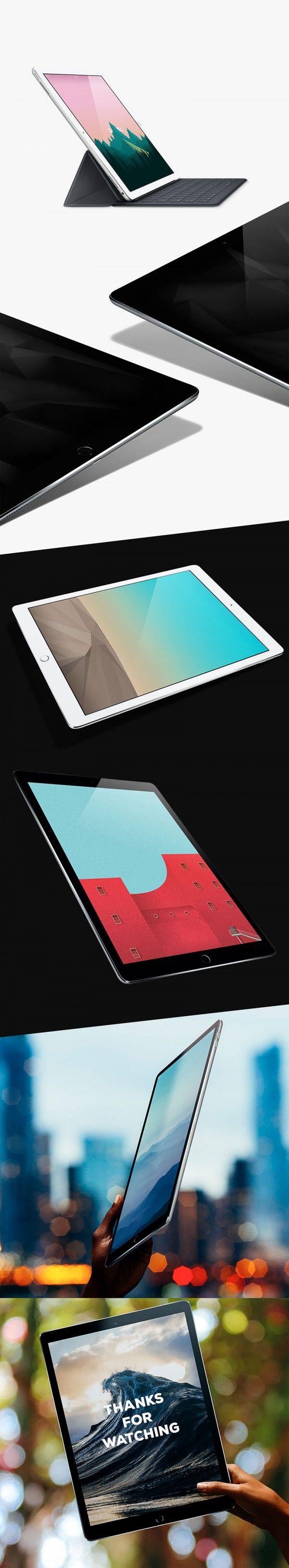 6 poster design photo mockups 57079 - Ipad Pro Mockups Free