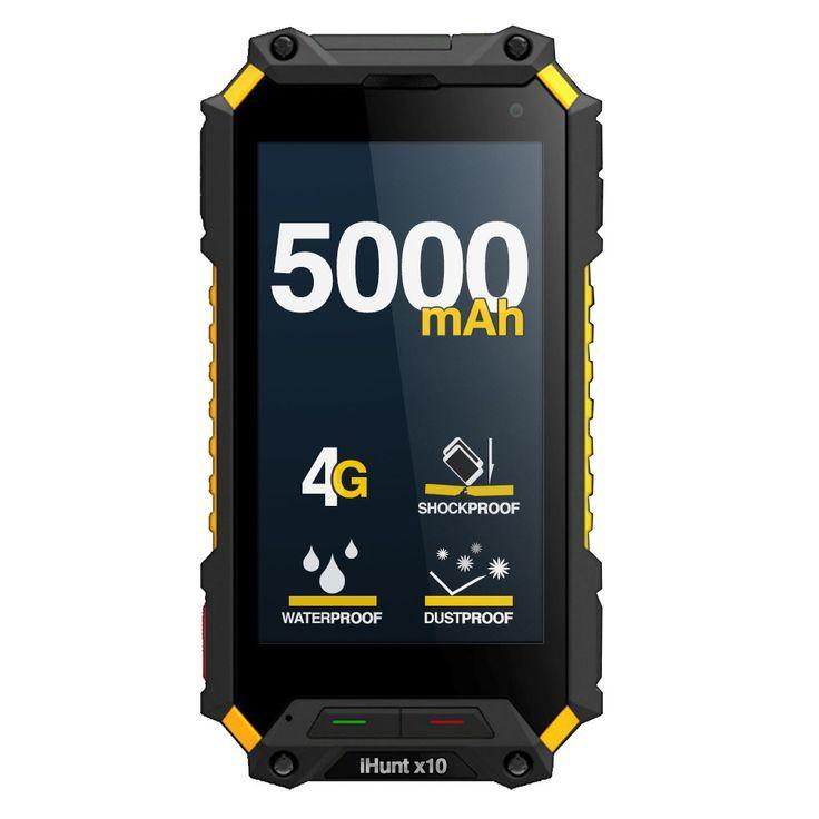 iHunt x10 Tank - 4G, Quad-Core, 2GB/16GB, SOS, 5000mAh, Android 5.1, IP68