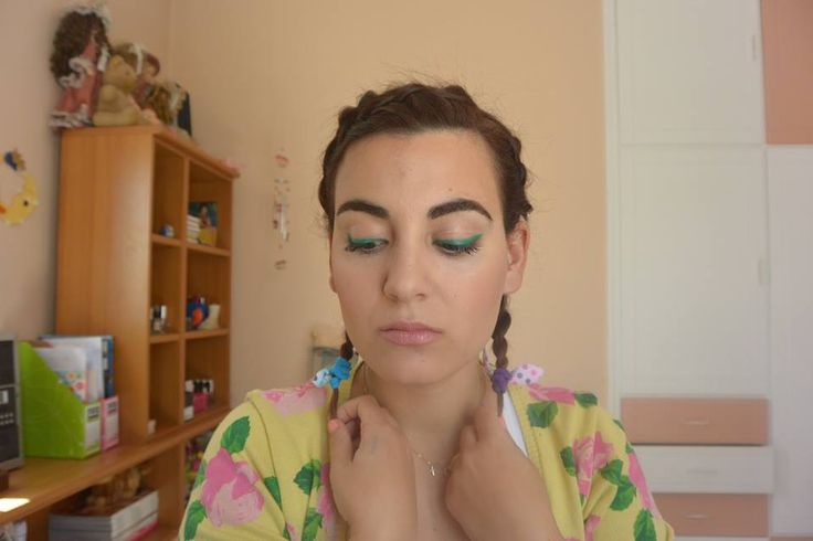 colorful makeup tutorial for spring