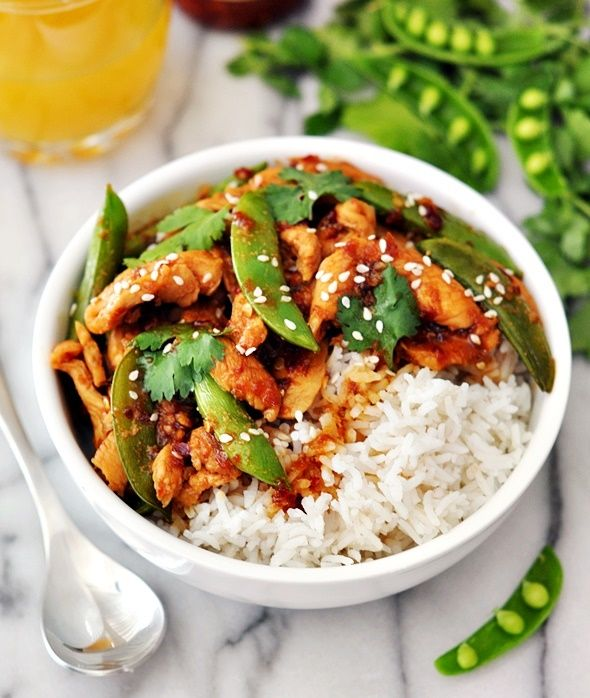 [Recipe] Sambal Chicken Stir-Fry with Sugar Snap Peas - Fuss Free Cooking