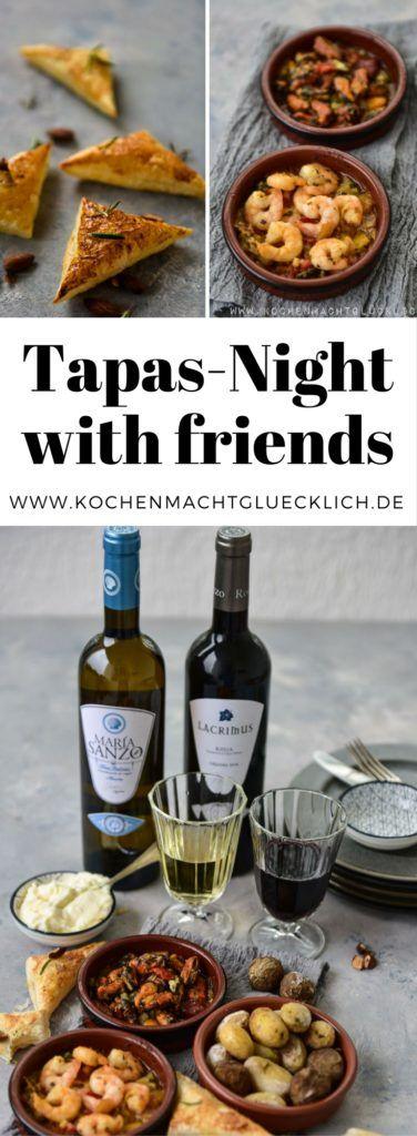 Ein Tapasabend mit Freunden ist etwas wunderbares! Hier findest Du einfache Rezepte mit denen Du schnell und einfach Tapas selbst zubereitest.