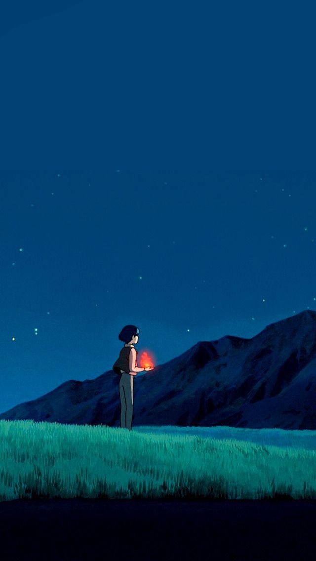Studio Ghibli Gifs Howl S Moving Castle Phone Wallpapers Set