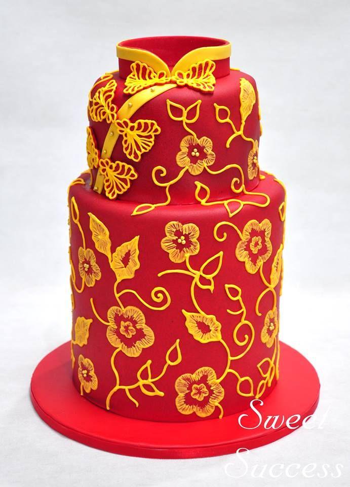 Cheongsam Cake 3